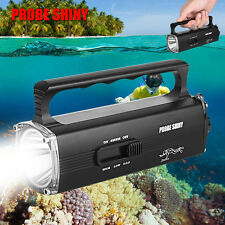 8000LM CREE XM-L2 T6 Scuba Diving Underwater Flashlight Torch Waterproof Lights
