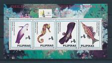 [49092] Philippines 1996 Marine life Fish MNH Sheet