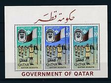 [34172] Qatar 1965 Scouting Perforated VF MNH souvenir sheet