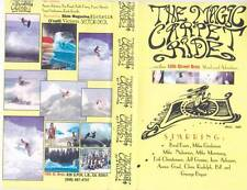 SURFING ~THE MAGIC CARPET RIDE   VHS PAL VIDEO~ A RARE FIND