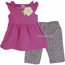 NWT Gymboree Baby Girls 2 piece set Outfit Shirt & Pants Size 2T 3T 4T