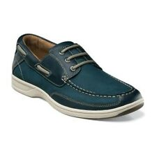 Florsheim Mens Navy Lakeside Ox Leather Casual Oxfords Comfortable Trending Shoe
