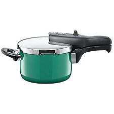 Silit Sicomatic t-plus pressure cooker, without insert, 2.5l, Ocean Green, also