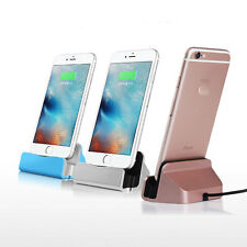 New Desktop Charger Charging STAND DOCK STATION Cradle for iPhone 5 5S 6 6S SE