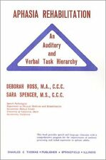 Aphasia Rehabilitation: An Auditory and Verbal Task Hierarchy Deborah Ross-Swain