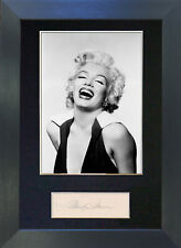 MARILYN MONROE Signed Mounted Autograph Photo Prints A4 218