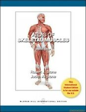 Atlas of Skeletal Muscles Judith A. Stone Robert J. Stone Paperback New Book Fre