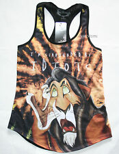 Disney The Lion King I'm Surrounded by Idiots SCAR Tank Top Juniors XS-2X