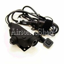 Z-Tactical U94 New Version Headset Cable & PTT for ICOM 2 Pin