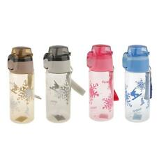 650ML Clear Plastic Drinks Sports Water Bottle for Cycling Hiking Gym BPA FREE