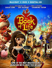 The Book of Life (2 Disc, Blu-ray + DVD) BLU-RAY NEW