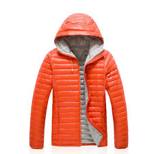 New Mens Winter Ultra-light Puffer Duck Down Warm Parka Jacket Sport Casual Coat