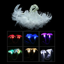 2.5M 10LED Fiber String Light Fairy Party Wedding Christmas Flashing Strip Light