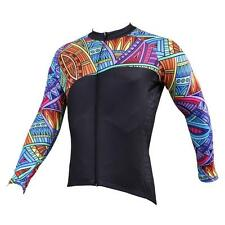Men Long Sleeve Cycling Jersey Bicycle Bike Sportwear Rider Clothing C525e
