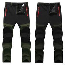 Winter Autumn Outdoor Mens Sportwears Pants Waterproof Hiking Climbing Trousers