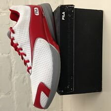 FILA Flow Volante White/Red Men's NIB