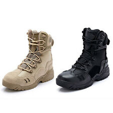 Men's Outdoor Military Army Desert Tactical Combat Boots Non-slip Climbing Boots