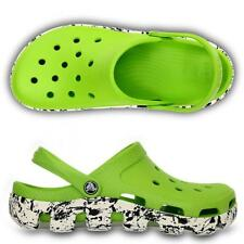 Duet Sport Splatter Graphic Clog Unisex Shoes Volt Green / White
