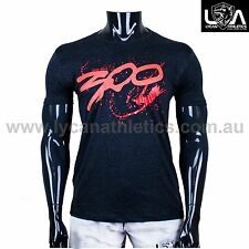 300 SPARTAN MUSCLE T SHIRT GYM / CASUAL - Singlet Tank Tee MENS Bodybuilding