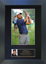 TIGER WOODS Signed Mounted Autograph Photo Prints A4 49