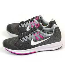 Nike Wmns Air Zoom Structure 20 Anthracite/White-Wolf Grey Running 849577-006