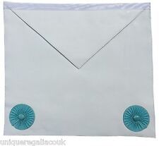 Masonic Regalia Fellow Craft Apron with Rosettes