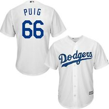 Los Angeles Dodgers MLB Mens Yasiel Puig Cool Base Jersey Big & Tall Sizes