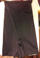 Womens-Size-XL-Black-High-Waist-Mid-Thigh-Core-Controller-Assets-Red-Hot-Spanx