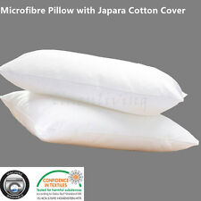 Microfibre Pillow with Japara Cotton Cover European Size 65x65cm
