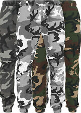 Urban Classics Men's Trousers Camouflage Army Sweatpants Jogging Sports Camo