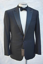 NEW Ralph Lauren Black Label Peak Lapel Tuxedo Black Tie 40 42 44 48 $2.5K