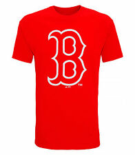 MLB Official American Sports Merchandise Boston Red Sox Large Logo T-shirt