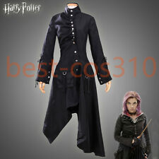 Harry Potter Cosplay Nymphadora Tonks Costume Coat Jacket Cape Black Halloween