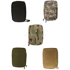 Military Tactical Molle First Aid Bag Utility Accessory Kit Pouch Vest Pack