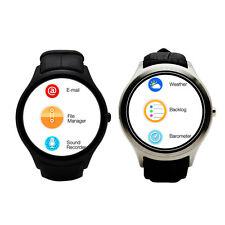 """NO.1 D5 Wifi Bluetooth Android Smart Watch 512MB 4GB Pedometer GPS SIM Card 1.3"""""""