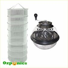 Stainless Bowl Manual Leaf Trimmer Clear Lid Cutter Hydroponic Plant Drying Net
