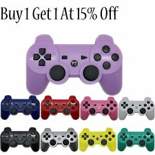 Wireless Joypad Shock Game Controller For PS3 Bluetooth Game Remote Controller J