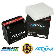 Atom YTX14-BS YTX14BS Motorcycle Battery Hyosung GT 250 Comet 04-06