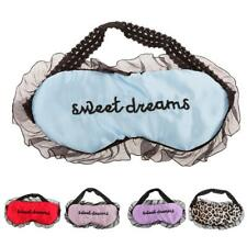 Lace Eye Mask Sleep Travel Padded Shade Eyes Cover Rest Relax Sleeping Blindfold