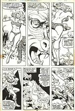 ROSS ANDRU SHANNA The She Devil #4 Original Marvel Comic Book Bronze Art 1973