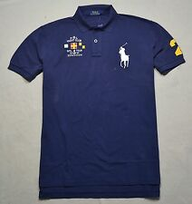 NWT MEN POLO RALPH LAUREN YACHT CLUB CLASSIC FIT RUGBY POLO SHIRT SZ LARGE