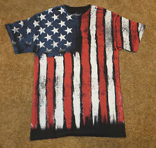 Stars and Stripes ~ American Flag ~ United States ~ T Shirt Mens ~ New Small S