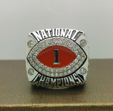 Solid 2008 BCS Florida Gators National College Championship Ring 8-14Size TEBOW