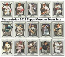 2013 Topps Museum Collection Baseball Team Sets ** Pick Your Team Set **