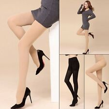 Fashion Opaque Footed Tights Slim Elastic Sexy Women's Pantyhose Stocking Socks