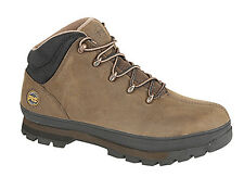 Mens New Timberland SPLITROCK PRO Gaucho Brown Leather Hiker Type Safety Boots