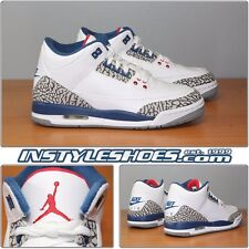 Nike Air Jordan 3 III OG 2016 Retro True Blue 854261 10 Grade School SHIPS NOW