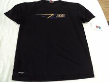 NWT Nike fit dry youth T, youth S or M, black, ECU, East Carolina University