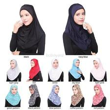 Vogue Muslim Women Islamic Hijab Inner Cap Wrap Scarves Headwear Shawl Scarf