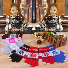 Unisex Christmas Xmas Touch Screen Mobile Warm Gloves For Phone Winter Magic